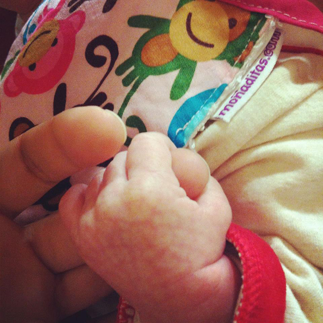 imagen tierna bebé
