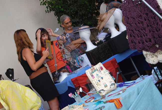 moñaditas en el pop up market valencia