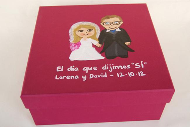 Regalos rom nticos para bodas y aniversarios detallesconmimo for Ideas para regalos de boda