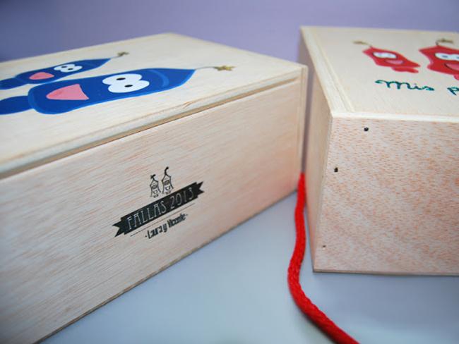 caja de madera para los petardos detallesconmimo