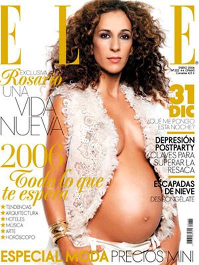Rosario Flores embarazada