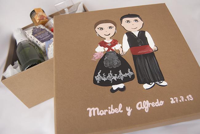 Un regalo para una boda manchega detallesconmimo for Regalos para hermanos en boda