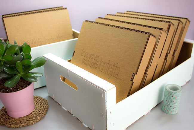 Como pintar una caja de madera caja madera pintada with - Como decorar cajas de madera paso a paso ...