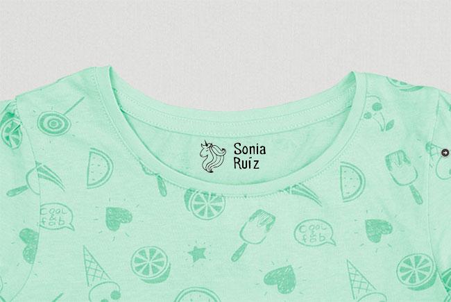 sello-personalizado-ropa-unicornio