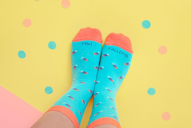 calcetines falleros friki