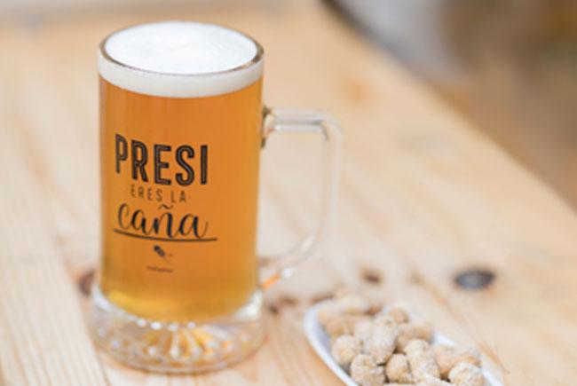 Regalo presidente jarra cerveza