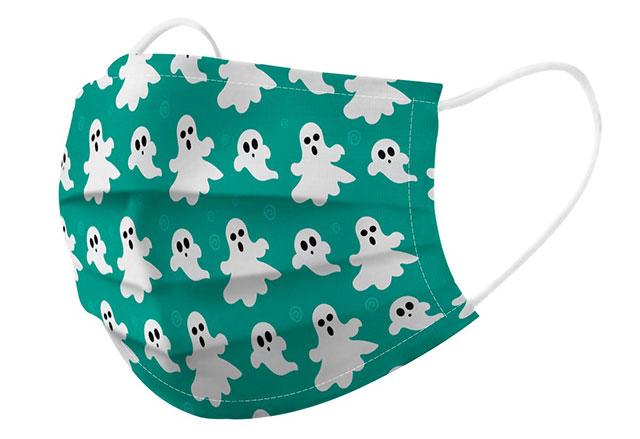 Mascarilla fantasmas